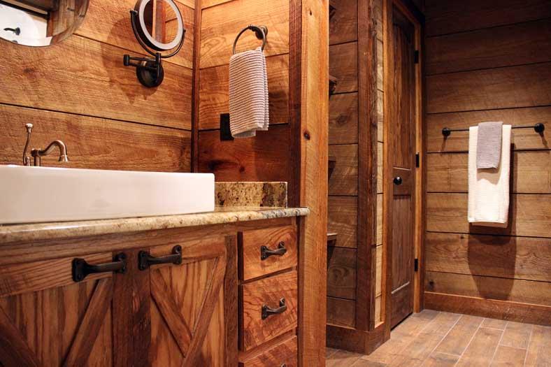 barn style bathrooms