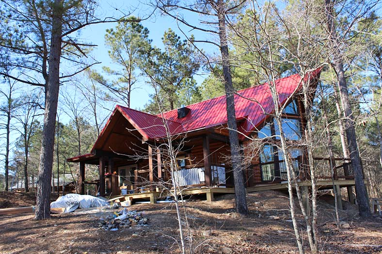 Deer Drink Secluded Beavers Bend Cabin On 40 Private