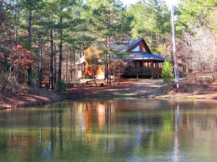 Redbud Retreat Secluded Beavers Bend Cabin On 40 Private